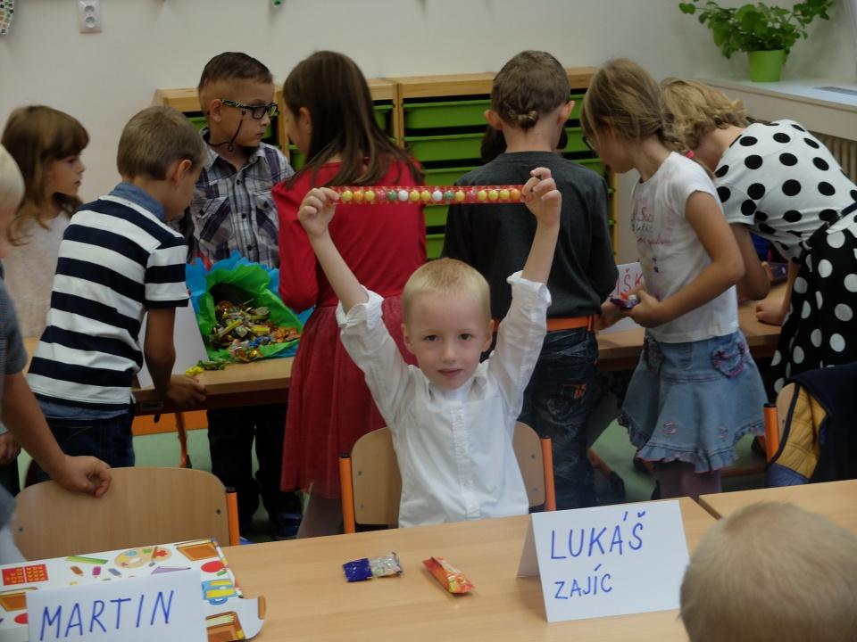 první den ve škole :-)